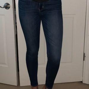 Hollister high rise super skinny jeans